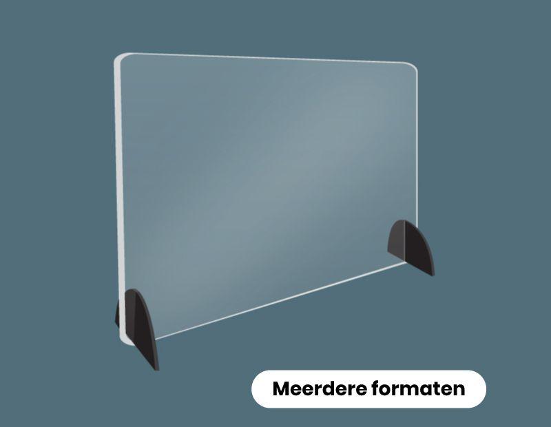 Tafelscherm van plexiglas