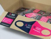 Bedrukte mondkapjes - Premium (vanaf 100 stuks)  afbeelding 2